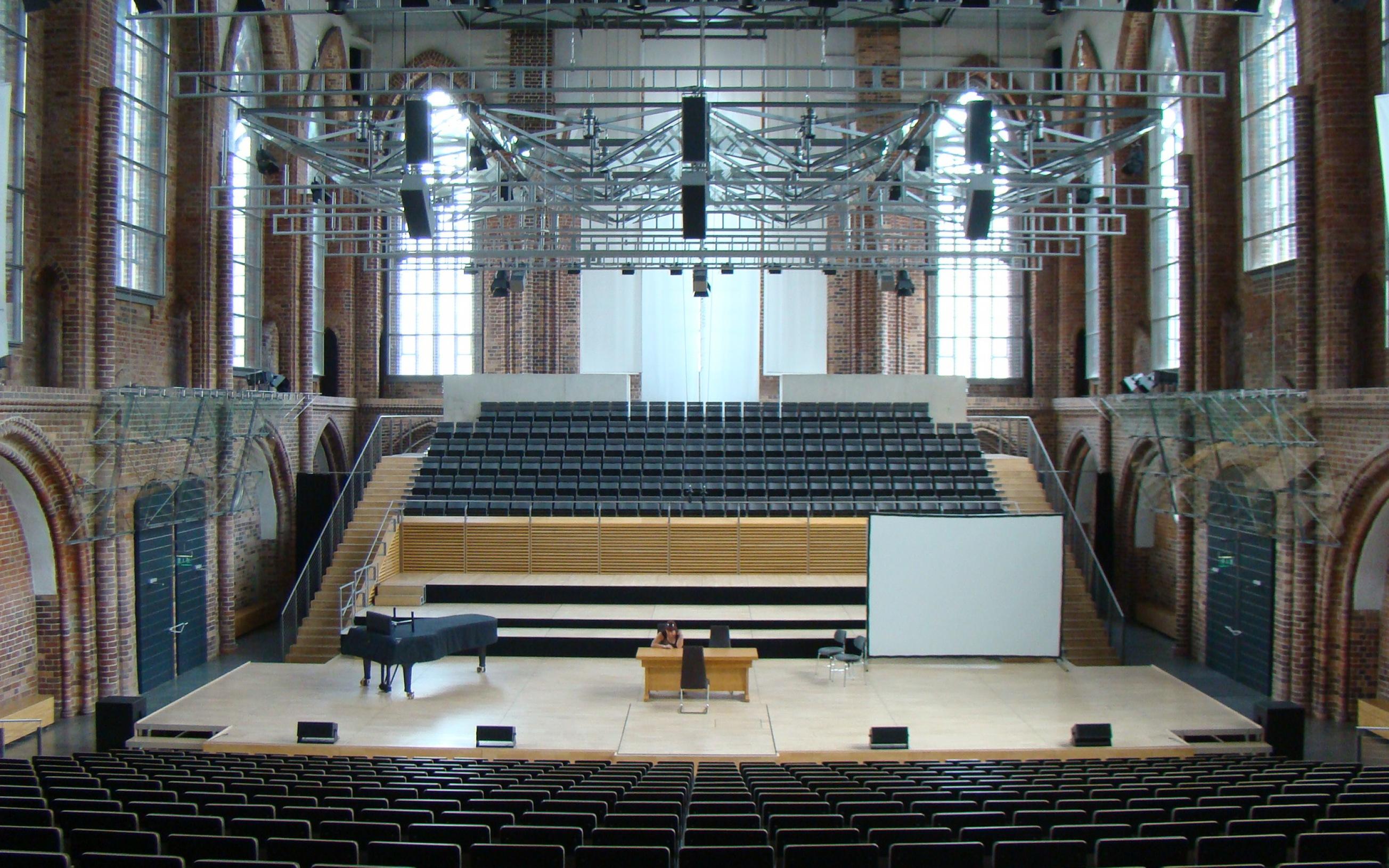 Konzertkirche (ehem. Marienkirche) in Neubrandenburg