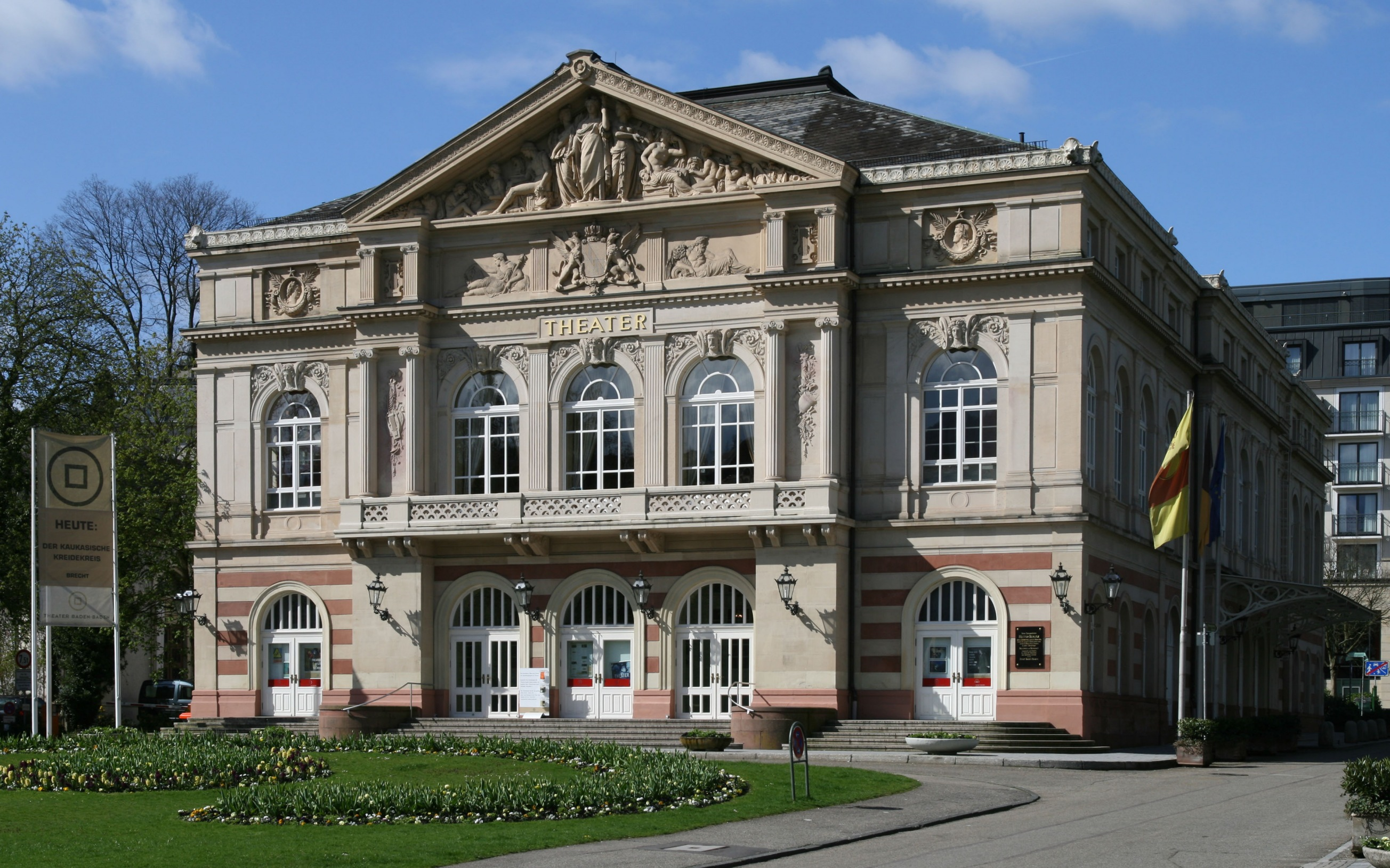The Theater in Baden-Baden, Germany.