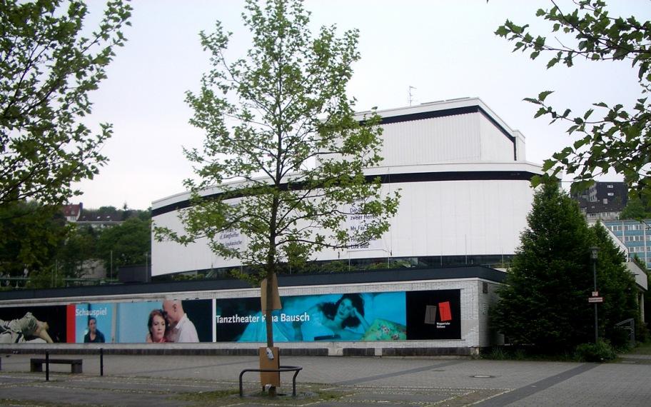 Wuppertal, Germany: Schauspielhaus (drama theatre)