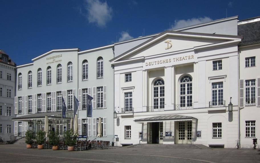 Das Deutsche Theater und die Kammerspiele in der Schumannstraße in Berlin-Mitte.