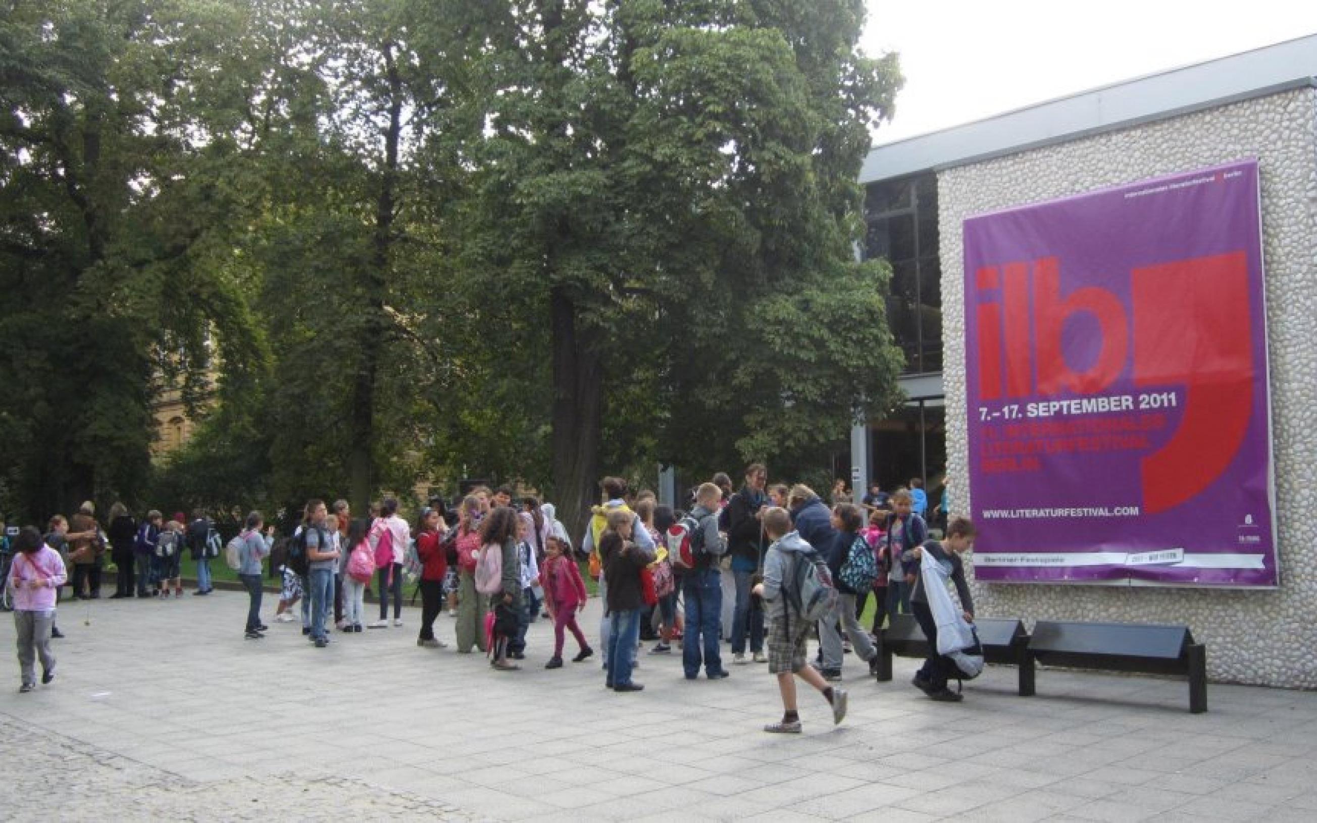 Haus der Berliner Festspiele im September 2011 während des 11. internationalen literaturfestivals berlin