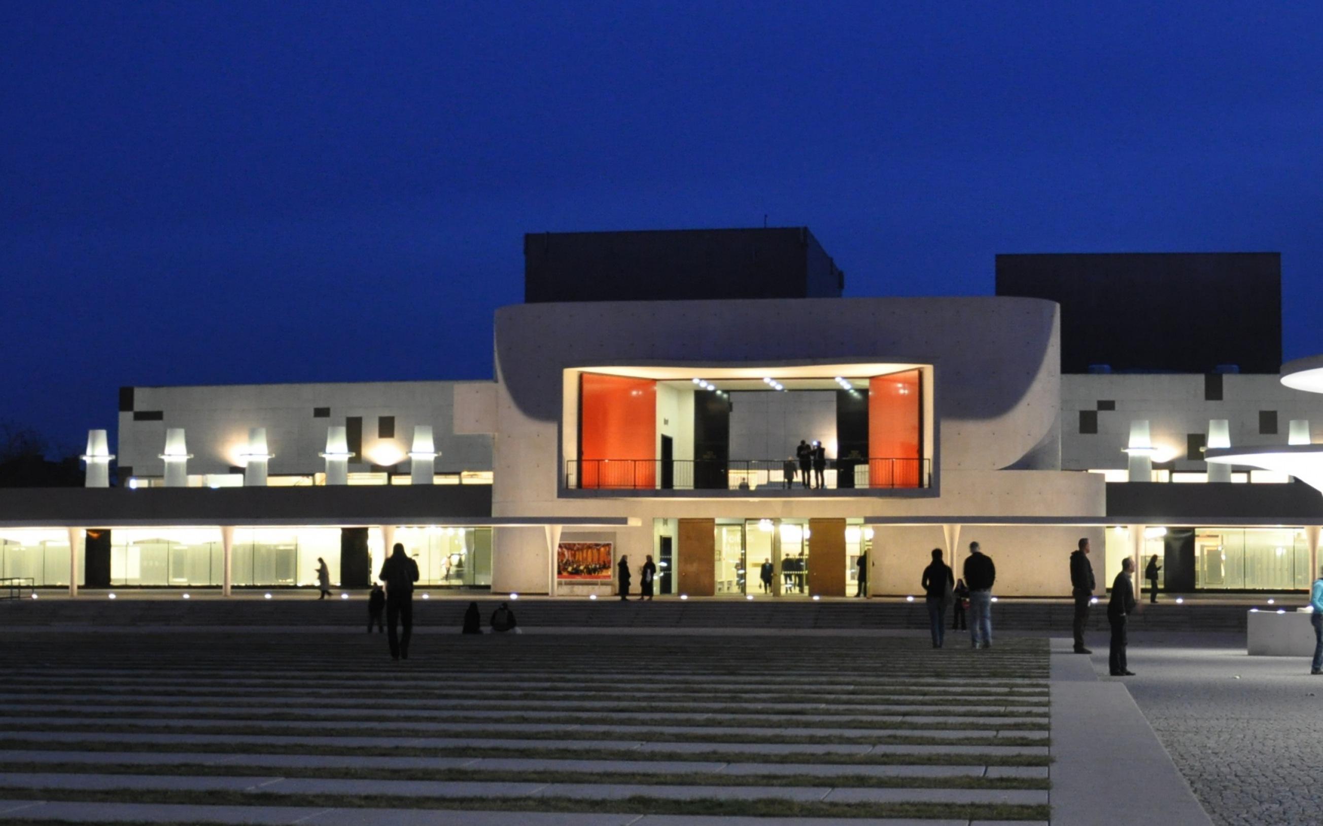Darmstadt, Georg-Büchner-Platz Staatstheater Darmstadt