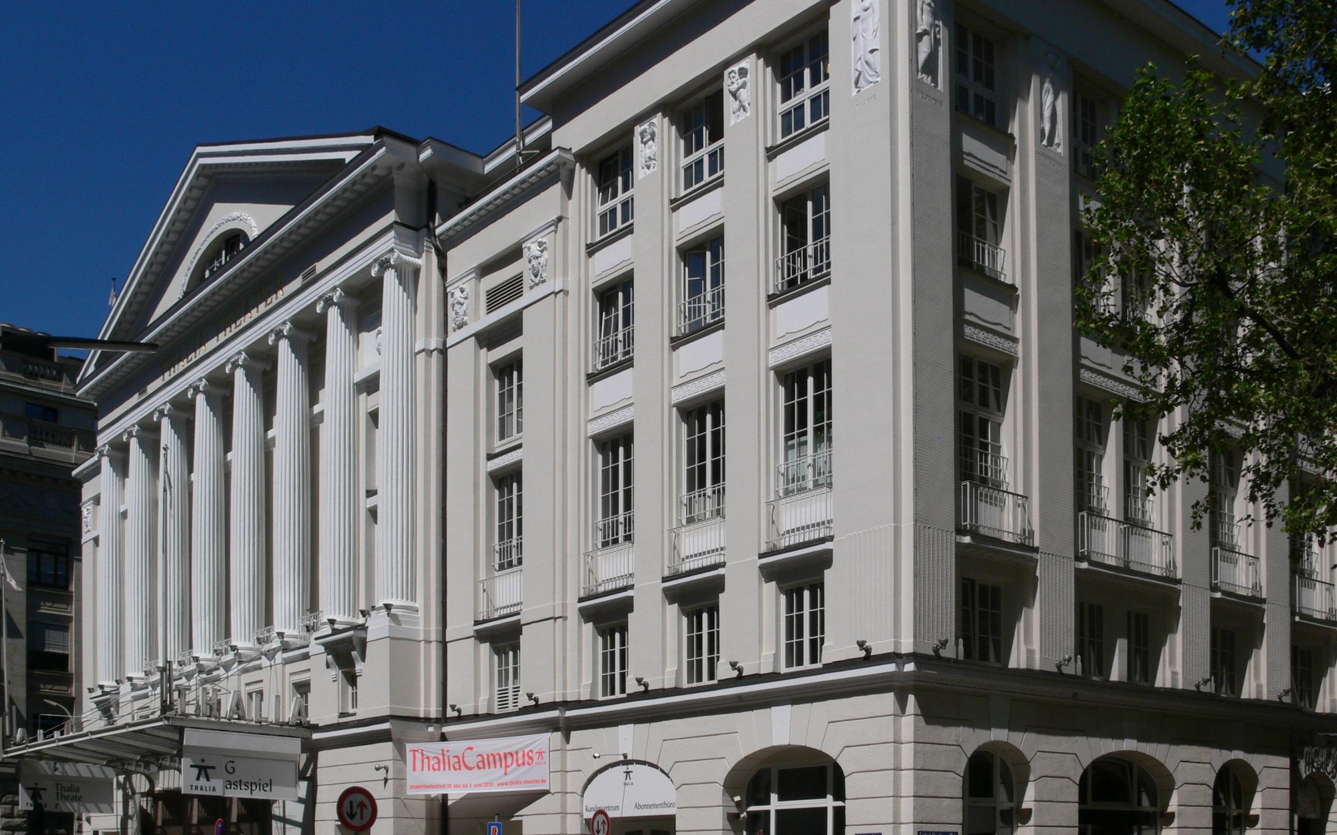 Hamburg, Thalia-Theater  Dieses Bild zeigt ein Baudenkmal. Es ist Teil der Denkmalliste von Hamburg, Nr.614.