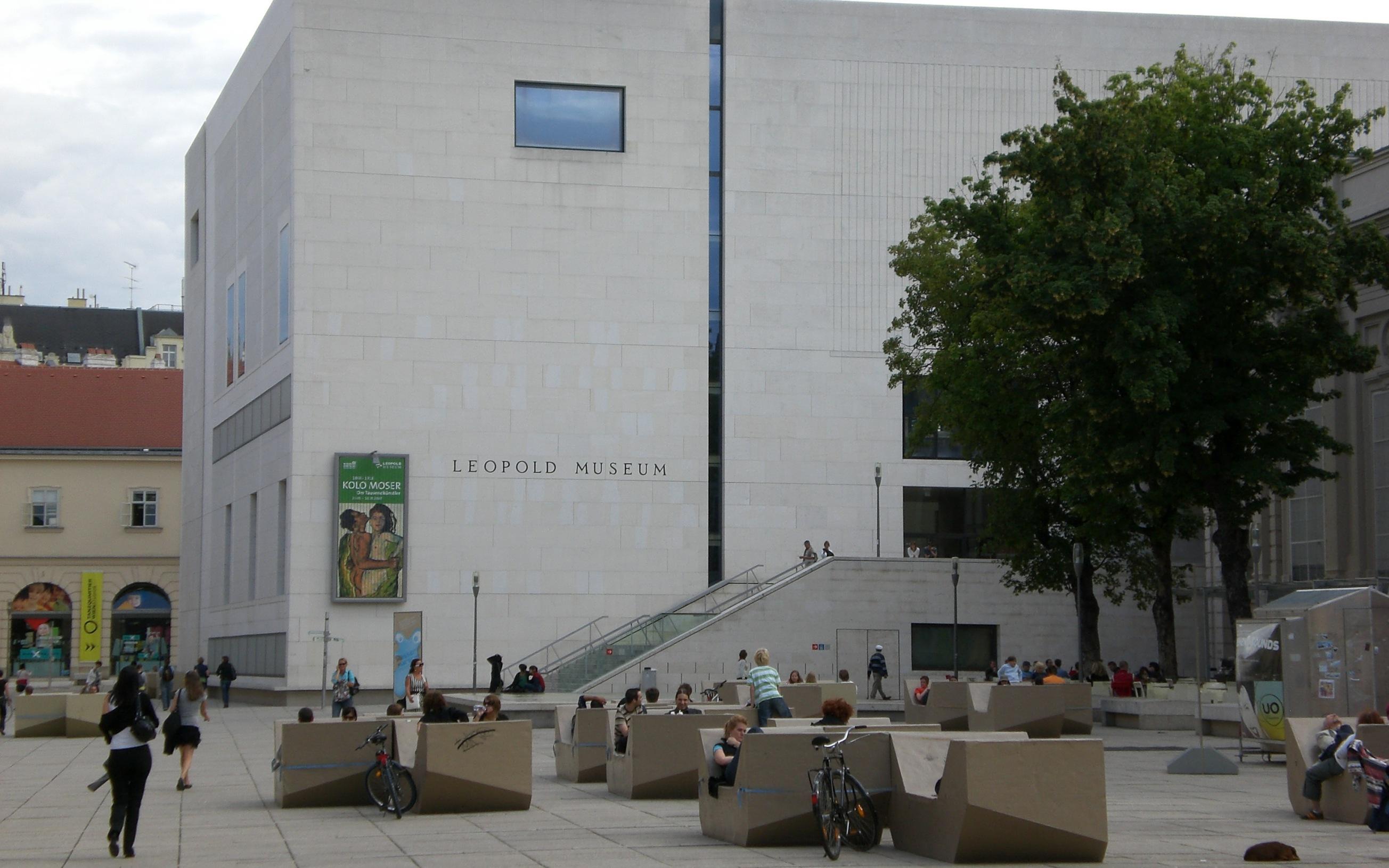 Österreich, Wien, Leopold Museum