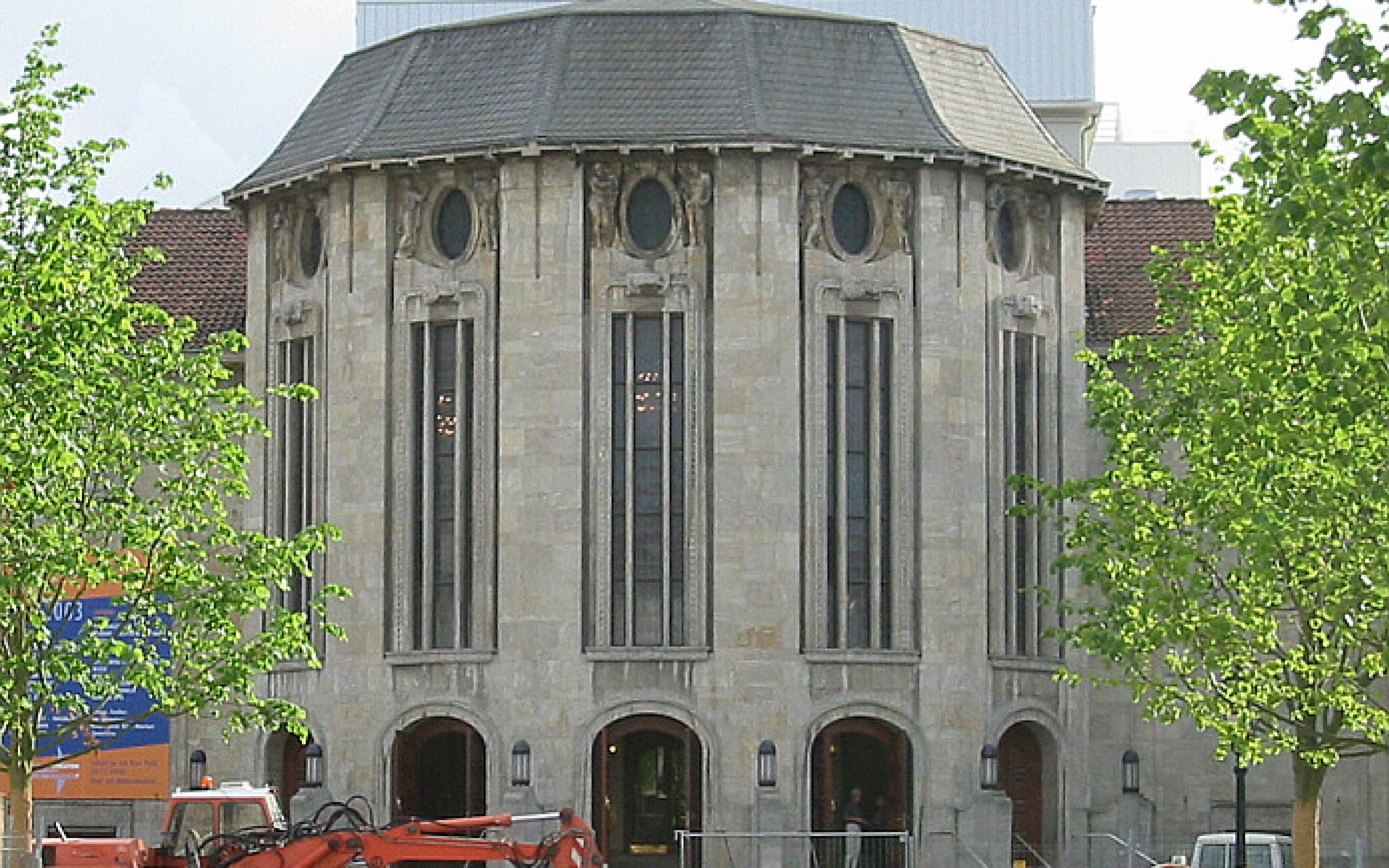 Bremerhaven, Germany: Stadttheater (municipal theatre) Das abgebildete Objekt ist ein geschütztes Kulturdenkmal in