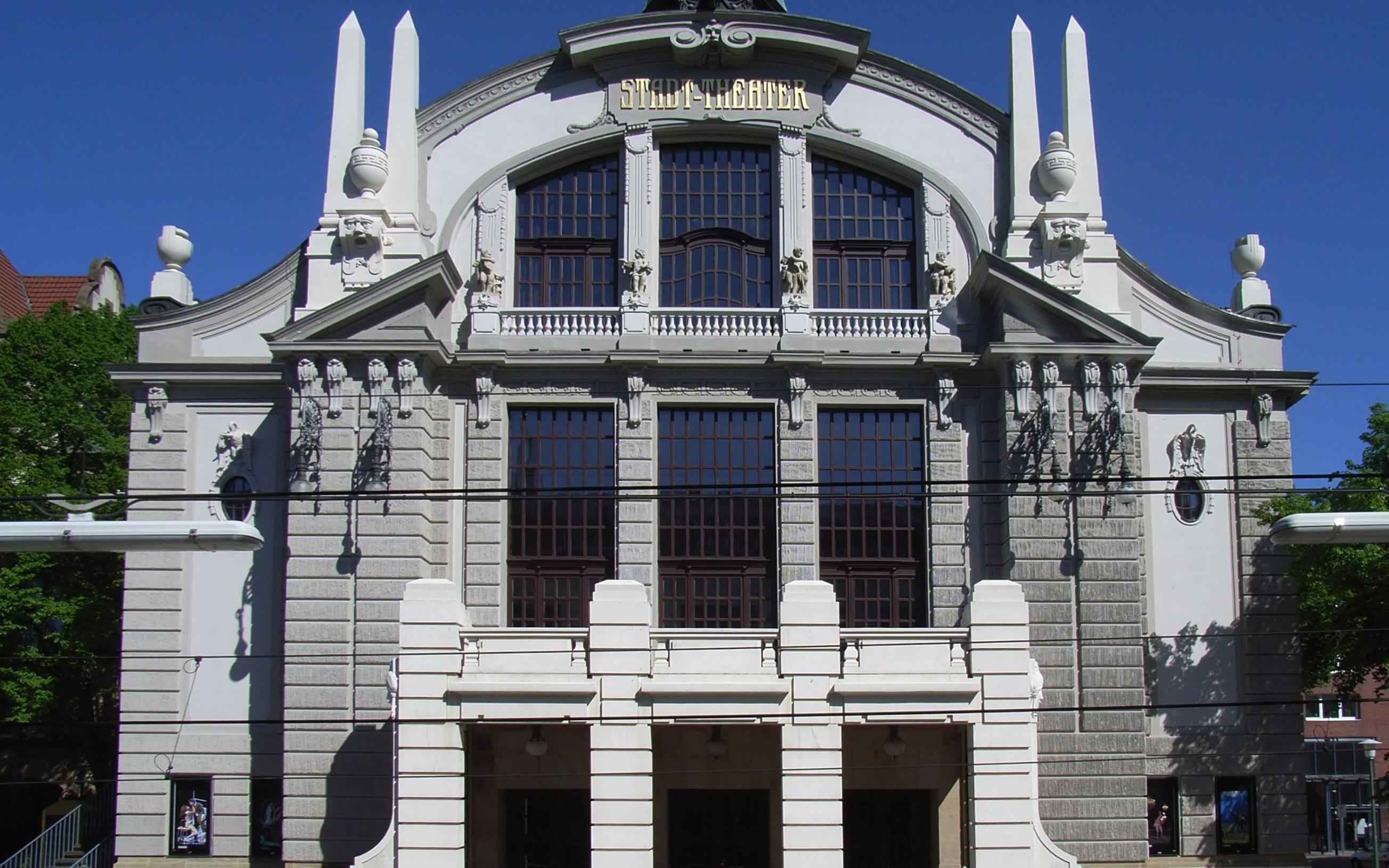 Bielefeld, Deutschland: Stadttheater