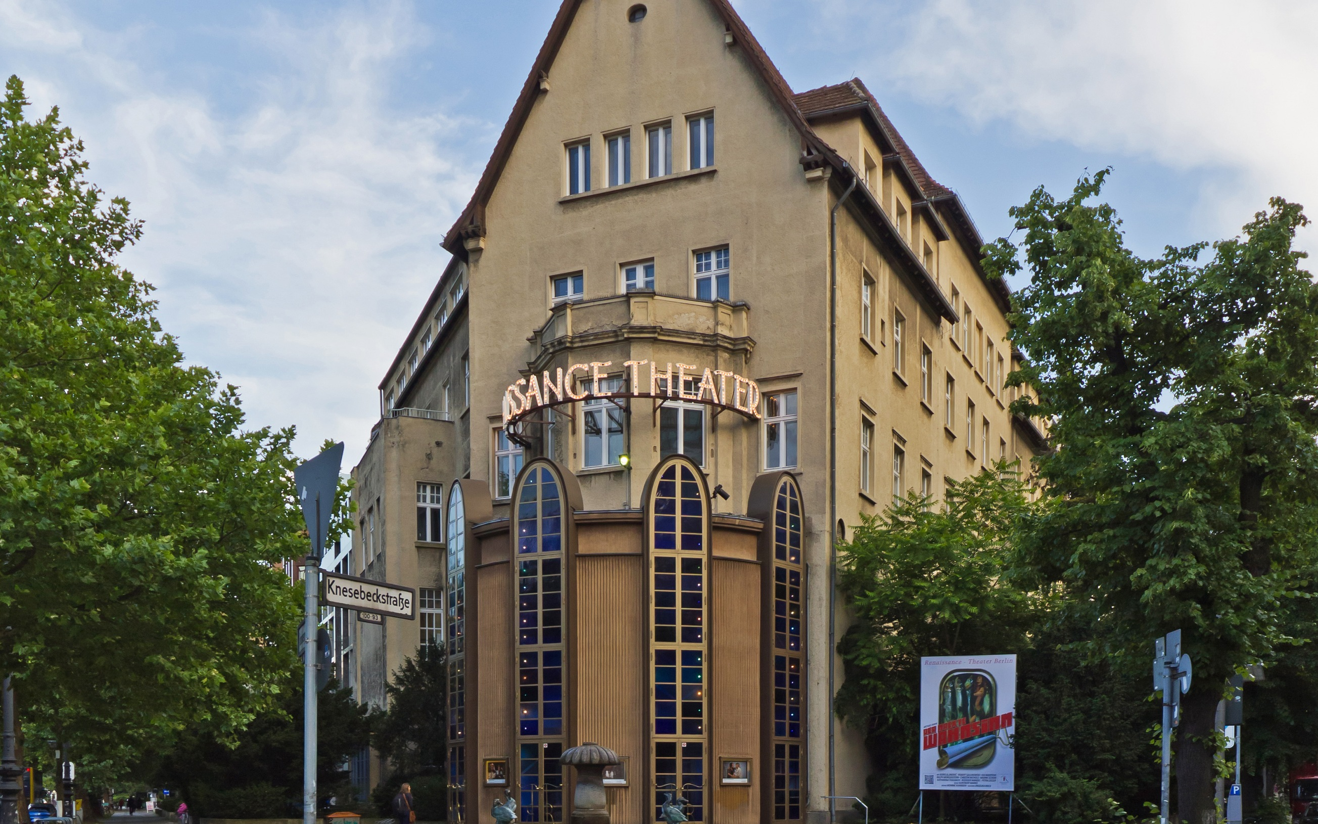 Das Renaissance-Theater in Berlin-Charlottenburg