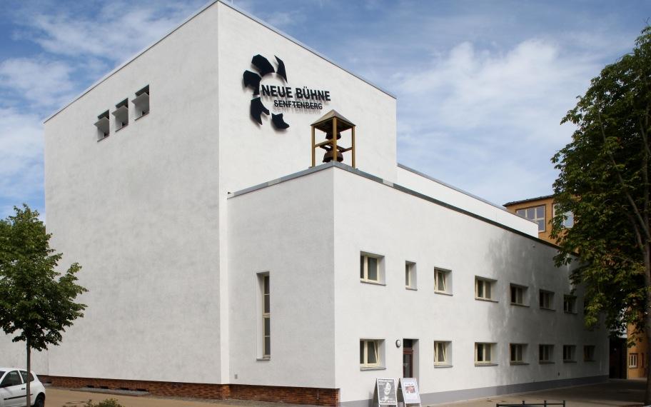 Außenansicht NEUE BÜHNE Senftenberg