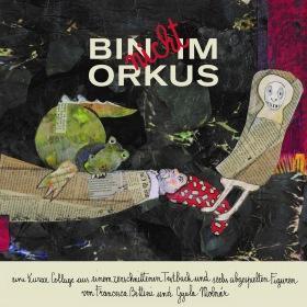 BIN nicht IM ORKUS - Eine kurze Collage aus einem zerschnittenen Textbuch und sechs abgespielten Figuren